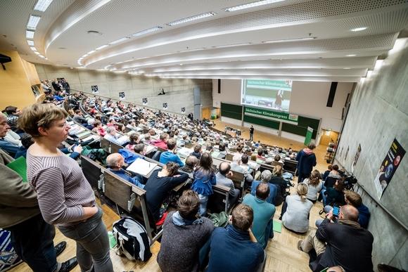 Auditorium beim 12. Sächsischen Klimakongress