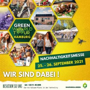 Green World Tour Messe Hamburg