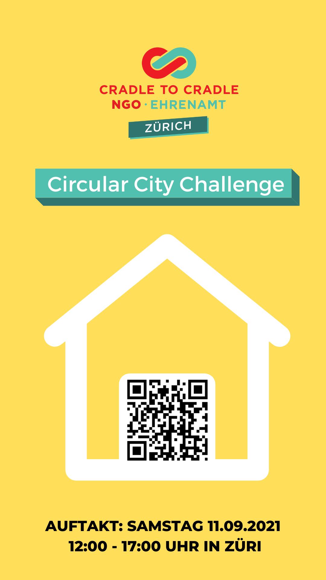 C2C Zürich - Circular City Challenge - Auftakt: Samstag, 11. 9.2021, ab 12:00
